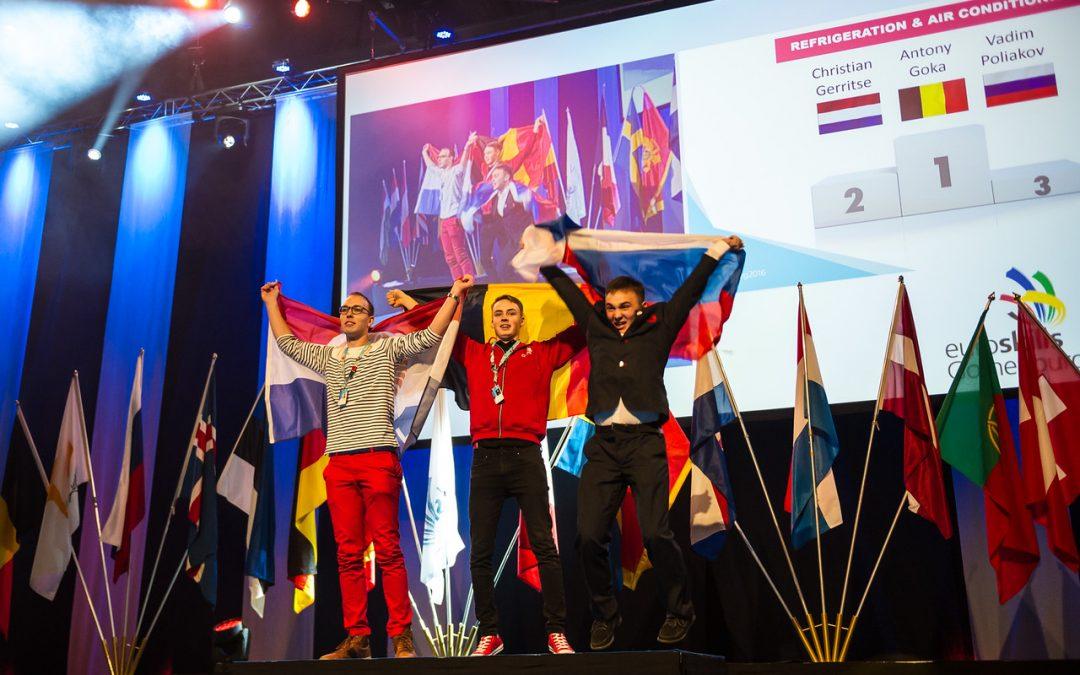 EuroSkills 2016 – Medals, medals medals!